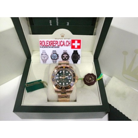 Rolex Gmt Master II green floor replica