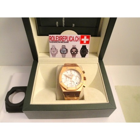 Audemars Piguet replica offshore crono Leo Messi limited rose gold