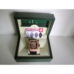 Richard Mille replica RM52-01 skull nano ceramic limited edition rose gold imitazione orologio