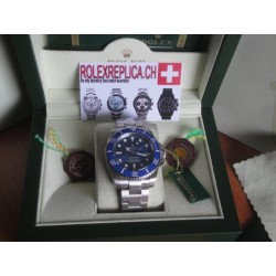 Rolex Submariner blu ceramica replica
