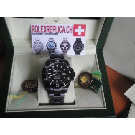 Rolex replica submariner prohunter PVD limited