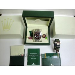 Rolex replica deepsea black out red dial imitazione orologio