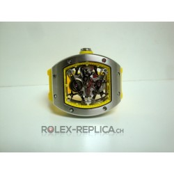 Richard Mille replica RM038 bubba watson yellow edition imitazione orologio