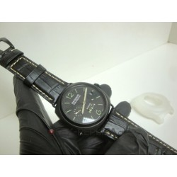 Officine Panerai replica luminor marina radiomir 8 days strip leather