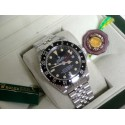 Rolex replica Vintage GMT 1675 PCG Gilt Chapter Ring black Dial