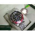 Rolex replica Vintage GMT 1675 PCG Gilt Chapter Ring rosso nero Dial