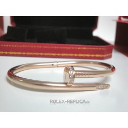 Cartier replica bracciale just on clue rose gold con kit completo