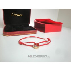 Cartier replica bracciale trinity red con kit completo
