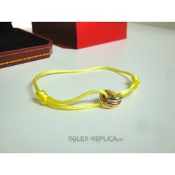 Cartier replica bracciale trinity yellow con kit completo