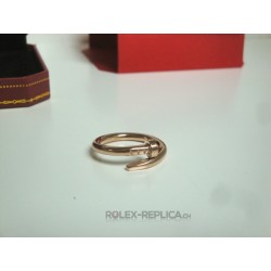 Cartier replica anello just on clue rose gold con kit completo