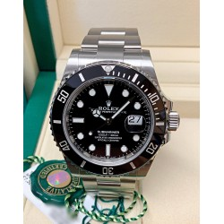 Rolex replica Submariner Date 126610LN black dial 41mm my 2020