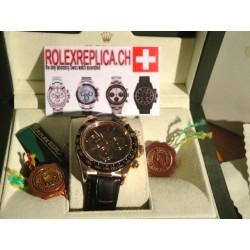 Rolex Daytona chocolate replica