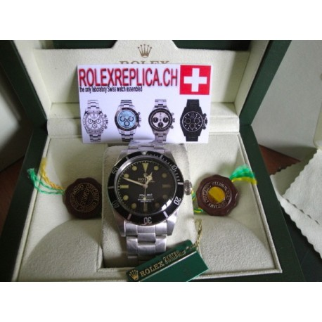 Rolex submariner replica vintage acciaio steel