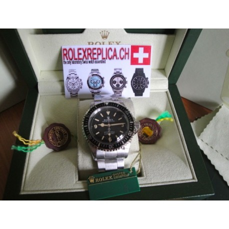 Rolex submariner replica vintage 3-6-9 acciaio steel