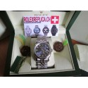 Rolex datejust replica imitazione blue brillantine