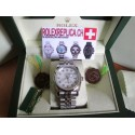 Rolex replica datejust white brilliantine imitazione