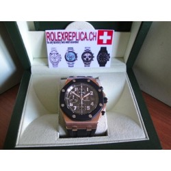 Audemars Piguet replica offshore crono caucciù rose gold
