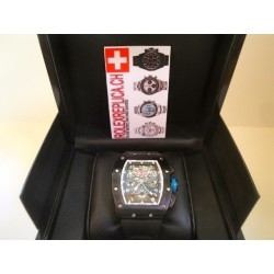 Richard Mille replica chrono bleu limited edition pro-hunter imitazione orologio
